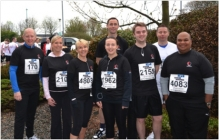 Team of 10 Run 10K for Charity